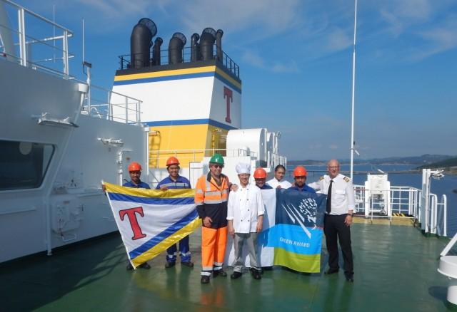 Η Tsakos Columbia Shipmanagement παραλαμβάνει ένα ακόμα Green Award