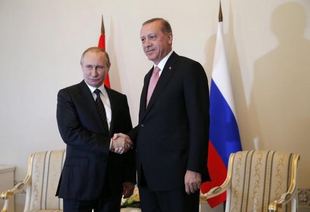 Αναθέρμανση των σχέσεων Άγκυρας-Μόσχας – Συνάντηση Πούτιν με Ερντογάν