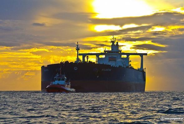 Το VLCC Atlantas έφτασε στο Γκντανσκ με 300.000 τόνους ιρανικού αργού