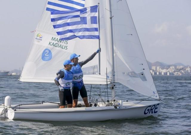 Το πλήρωμα των 470 με τους Μάντη-Καγιαλή φέρνει ένα ακόμα μετάλλιο για την Ελλάδα!