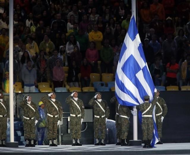 Φωτογραφίες από την τελετή λήξης των Ολυμπιακών Αγώνων: Πρώτη η Κατερίνα Στεφανίδη