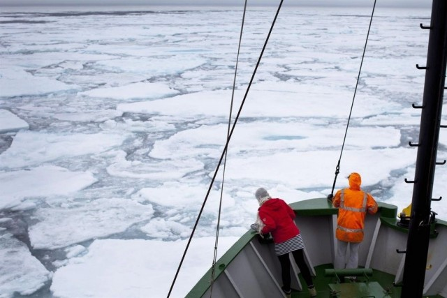 Ο αρκτικός πάγος λιώνει επιδεινώνοντας την «υγεία» του πλανήτη