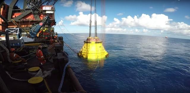 Bίντεο με τη λειτουργία της πιο βαθιάς γεώτρησης σε παγκόσμιο επίπεδο