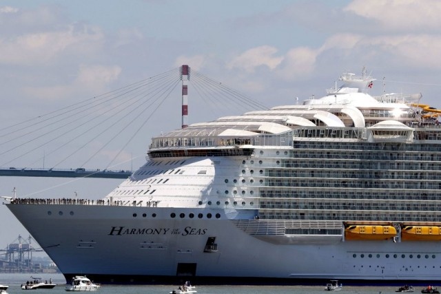 One man dies, four are injured during a safety drill aboard Royal Caribbean Cruise Line vessel Harmony of the Seas