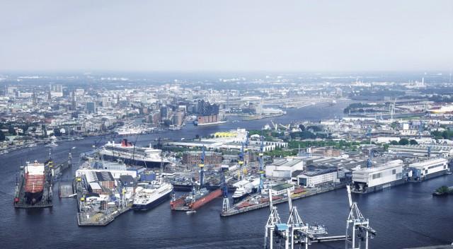 Το ιστορικό, γερμανικό ναυπηγείο Blohm+Voss επιστρέφει σε γερμανικά χέρια. Πηγή Blohm+Voss
