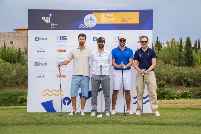 Παναγιώτης Καμπούρογλου: Για τους λάτρεις του γκολφ από τον χώρο της ναυτιλίας το Blue Tee καθιερώνεται ως ένα ξεχωριστό γεγονός