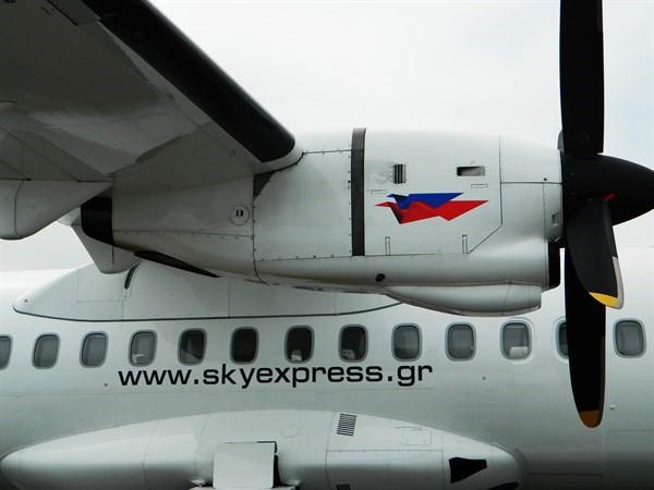 Η είσοδος της Sky Express σε τακτικά χειμερινά δρομολόγια
