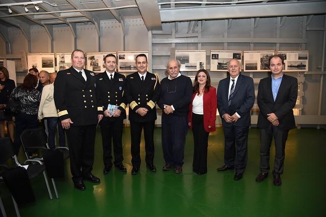 """Εκδήλωση στο πλωτό μουσείο """"HELLAS LIBERTY"""" για τη συμβολή των Ελλήνων ναυτικών στην αντιφασιστική νίκη κατά τον Β΄ Παγκόσμιο Πόλεμο"""