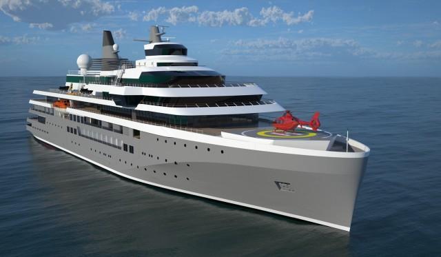 Νέας γενιάς πολυτελές πλοίο για κρουαζιέρες εξερεύνησης από την DAMEN (φωτογραφίες)