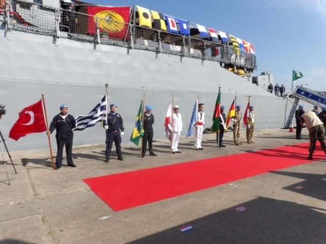 Συμμετοχή ΤΠΚ ΡΙΤΣΟΣ στην τελετή της 10ης επετείου από τη συγκρότηση της διεθνούς ναυτικής δύναμης UNIFIL (φωτογραφίες)
