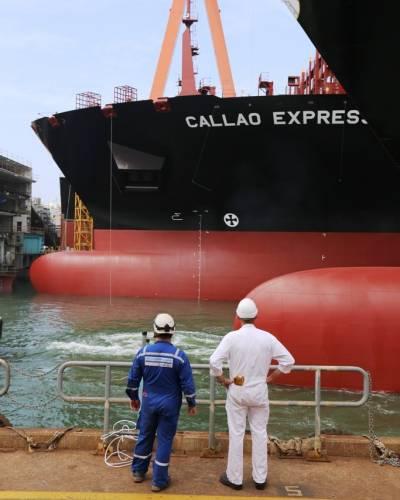 Η Hapag-Lloyd παραλαμβάνει νέα πλοία μεταφοράς εμπορευματοκιβωτίων από κορεάτικα ναυπηγεία (φωτογραφίες)