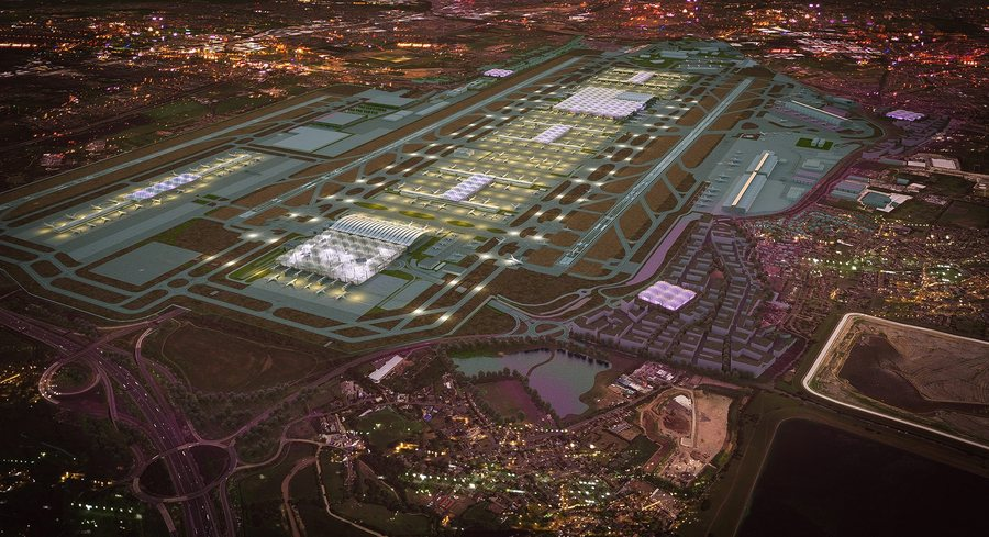 Winner of design contest to build a new terminal at Heathrow