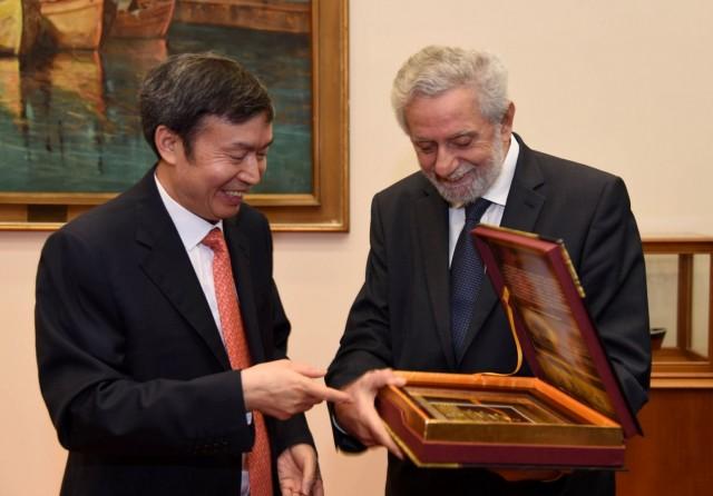 Eνίσχυση συνεργασίας Ελλάδας- Κίνας