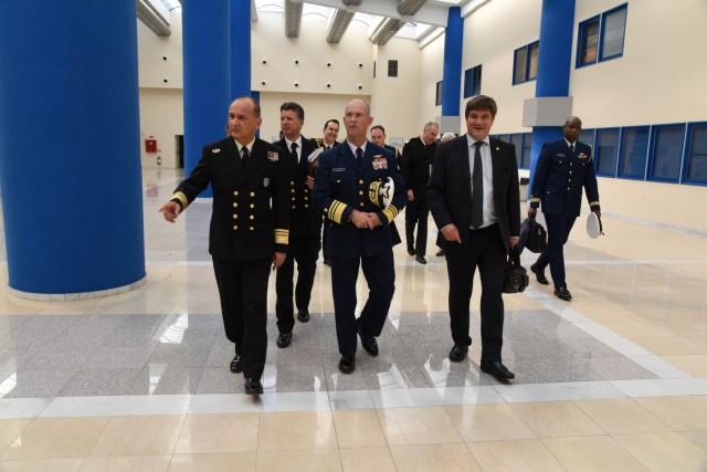 Εθιμοτυπική επίσκεψη του Υπαρχηγού Επιχειρήσεων της Ακτοφυλακής των Η.Π.Α. στο Αρχηγείο Λ.Σ.
