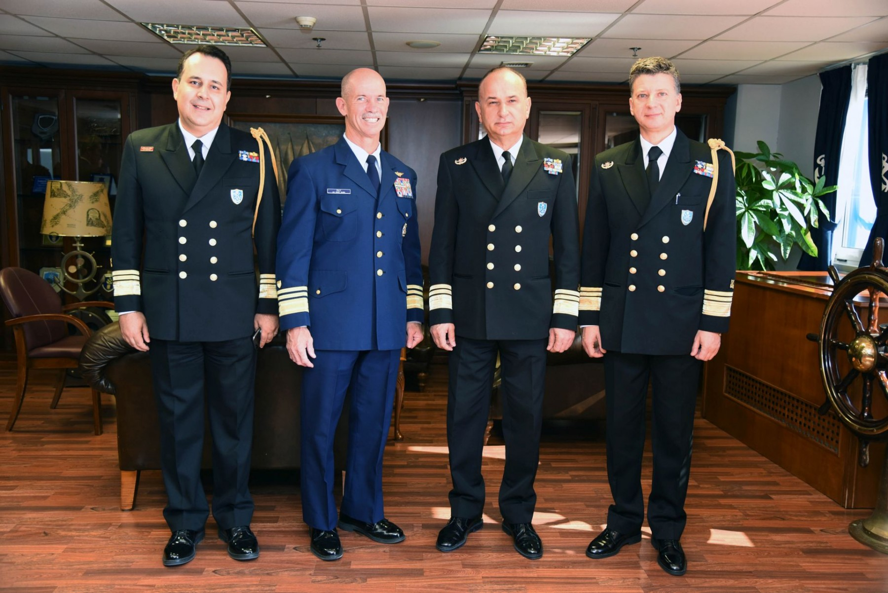 Επίσκεψη του Υπαρχηγού Επιχειρήσεων της Ακτοφυλακής των Η.Π.Α. στο Αρχηγείο Λ.Σ.