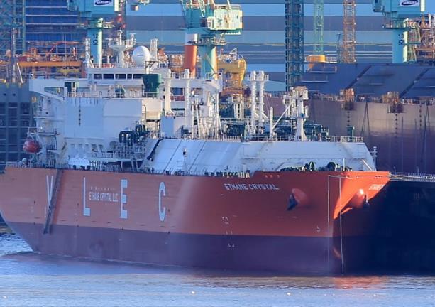 Τα μεγαλύτερα δεξαμενόπλοια μεταφοράς αιθανίου παρέδωσε η Samsung