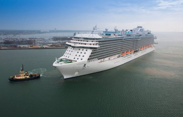 Ξεκινά η κατασκευή του τέταρτου κρουαζιερόπλοιου Royal Class της Princess Cruises (βίντεο)