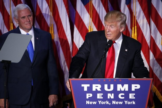 Ο Ντόναλντ Τραμπ ως νέος προέδρος των ΗΠΑ