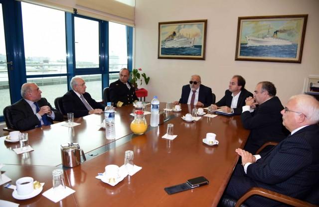 Ο Υπουργός Ναυτιλίας και Νησιωτικής Πολιτικής, Παναγιώτης Κουρουμπλής πραγματοποίησε συνάντηση με το Προεδρείο της Ελληνικής Επιτροπής Ναυτιλιακής Συνεργασίας