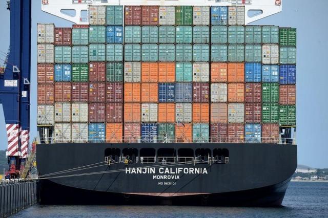 """Συνεχίζεται αμείωτος ο αγώνας """"επιβίωσης"""" από την κατάρρευση της Hanjin Shipping"""