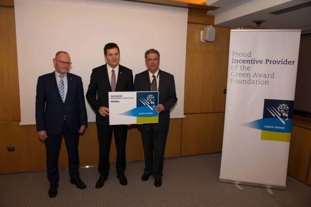 Δημήτριος Ματθαίου: είμαι ευτυχής που η DANAOS Management Consultants εντάχθηκε στο πρόγραμμα των Green Awards