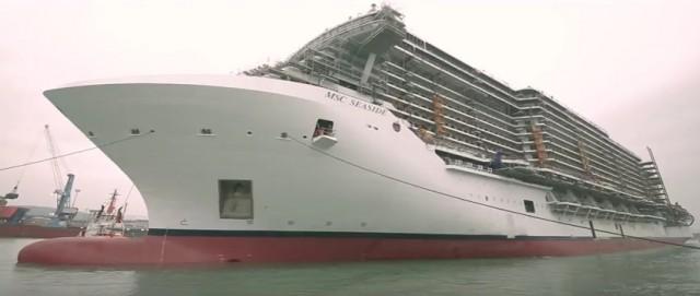 «MSC Seaside»: η νέα ναυαρχίδα της MSC Cruises