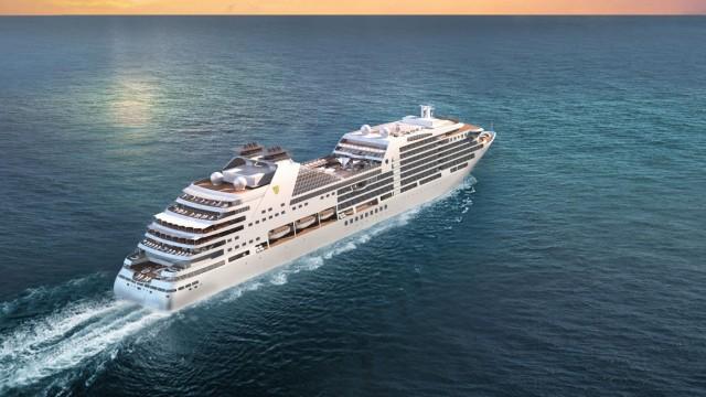 Η άφιξη στον Πειραιά του πολυτελούς «Seabourn Encore» της Seabourn Cruises (βίντεο)