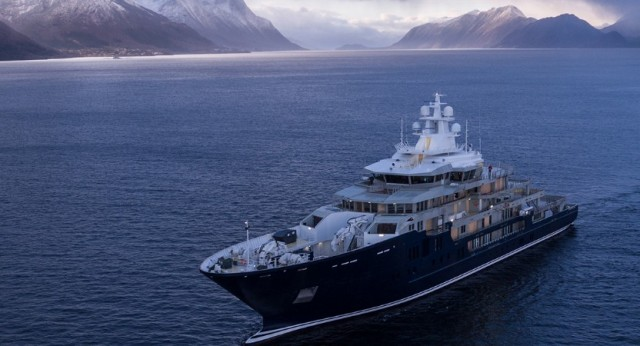 Νέο σούπερ-γιοτ 116 μέτρων από τα νορβηγικά ναυπηγεία Kleven (βίντεο)