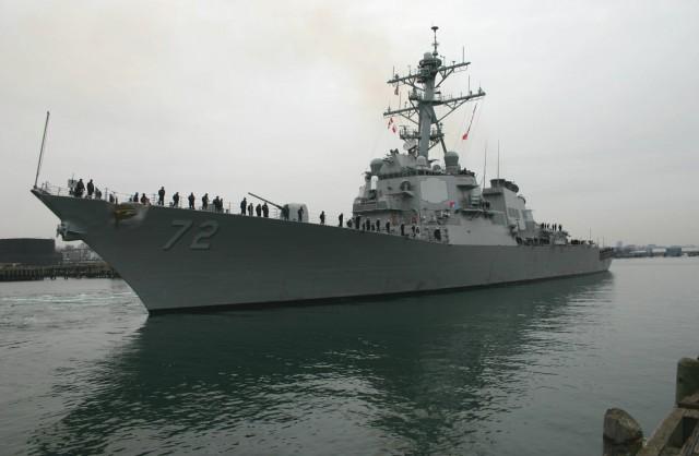 USS Mahan: Το αμερικανικό αντιτορπιλικό στο λιμάνι του Πειραιά