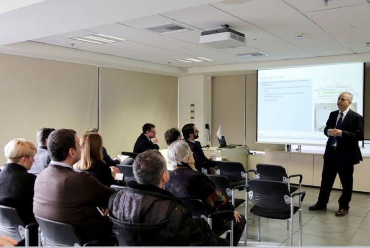 Οι κ. Georgios Teriakidis, Regional Business Development Manager και  Dr Loizos Isaias, Manager Maritime Service Centre & Advisory