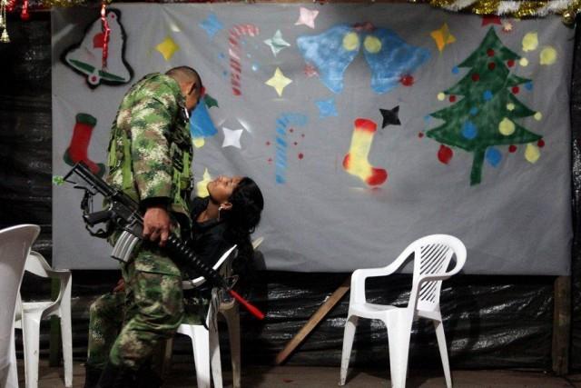 Christmas inside a FARC guerrilla camp