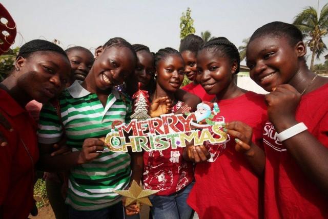 Liberians prepares for Christmas
