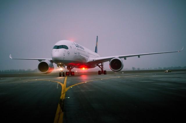 Το A350-900 της Lufthansa προσγειώθηκε για πρώτη φορά στη βάση του στο Μόναχο