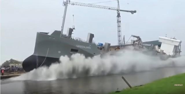 Σε βίντεο οι πλέον εντυπωσιακές καθελκύσεις πλοίων