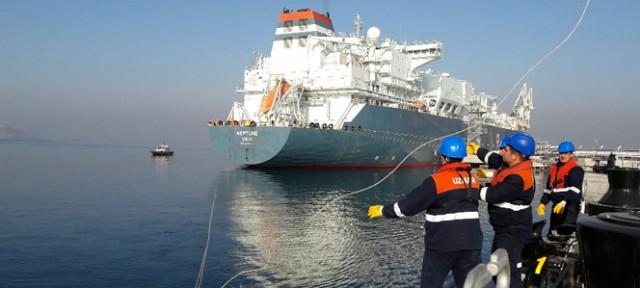 Ο νέος σταθμός ETKI LNG Terminal στην Τουρκία