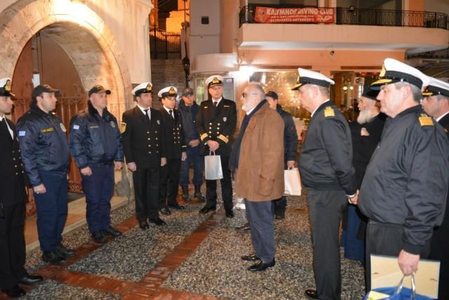 Παναγιώτης Κουρουμπλής: Υπόσχομαι την ίδρυση Ακαδημίας Εμπορικού Ναυτικού στην Κάλυμνο