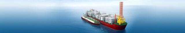 Συμβόλαιο για τη ναυπήγηση μίας πλωτής μονάδας εξόρυξης φυσικού αερίου και πετρελαίου