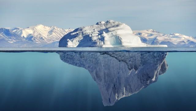 Κομμάτι από την κρηπίδα πάγου της δυτ. Ανταρκτικής έκτασης 5.000 τ.χλμ. έτοιμο να αποκολληθεί
