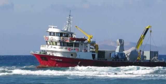 """Αποκολλήθηκε το πλοίο """"ALCATRAS"""" σημαίας Τουρκίας"""