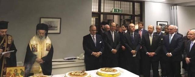 Στο Baltic Exchange, η κοπή πίτας της Ελληνικής Επιτροπής Ναυτιλιακής Συνεργασίας
