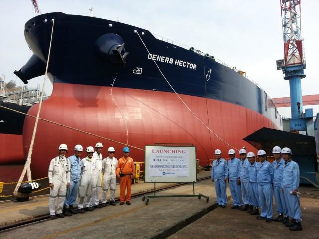 Παραλαβή πλοίου για την Gener8 Maritime Inc.