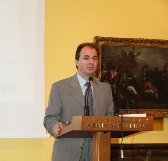 Παραιτήθηκε ο γενικός γραμματέας του ΥΝΑΝΠ καθηγητής Γιάννης Θεοτοκάς
