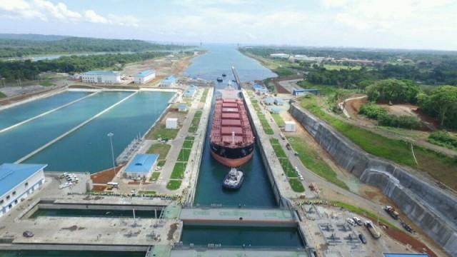 Ρεκόρ σημείωσε η διέλευση πλοίων από τη διώρυγα του Παναμά