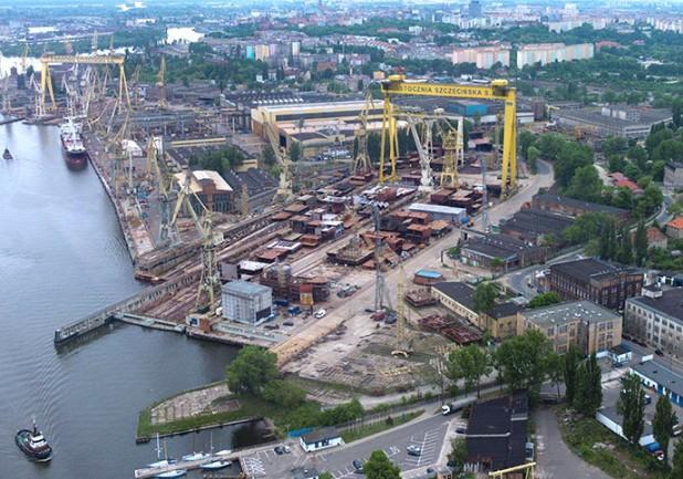 Προς επαναλειτουργία τα πολωνικά ναυπηγεία του Szczecin
