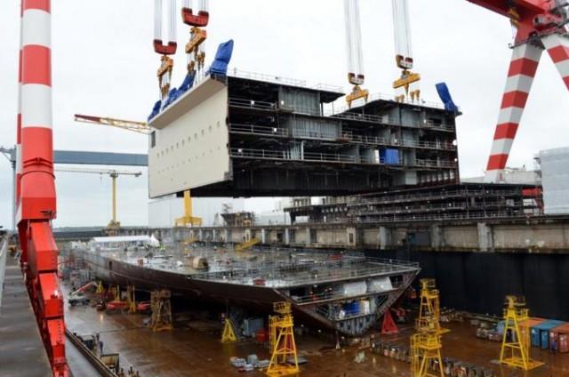 Ανάπτυξη συστήματος ανεφοδιασμού καυσίμου LNG για πλοία της MSC Cruises