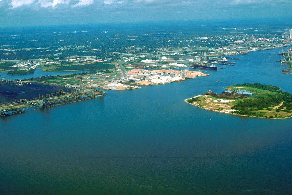 Το λιμάνι Mobile της Αλαμπάμα
