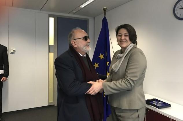 Συνάντηση στις Βρυξελλες του ΥΝΑΝΠ με τους Ευρωπαίους Επιτρόπους Violeta Bulc και Karmenu Vella