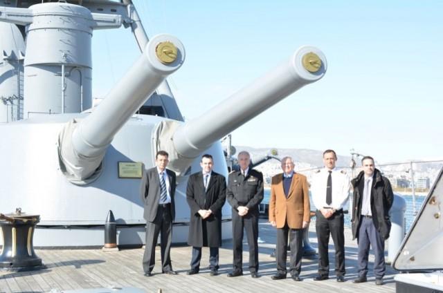 Η εταιρεία «Κατράδης» στηρίζει το Πλωτό Ναυτικό Μουσείο Θωρηκτό «Γ. Αβέρωφ»
