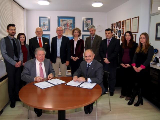 Υπεγράφη Μνημόνιο Συνεργασίας μεταξύ HELMEPA και RINA HELLAS