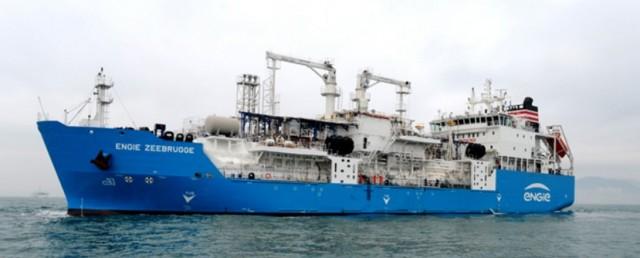 Το πρώτο πλοίο ανεφοδιασμού με LNG είναι γεγονός